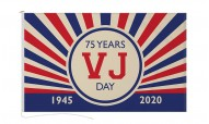 VJ Day 75 Years Anniversary Flags and Bunting