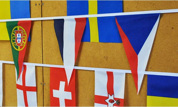 Misc European Nations Bunting