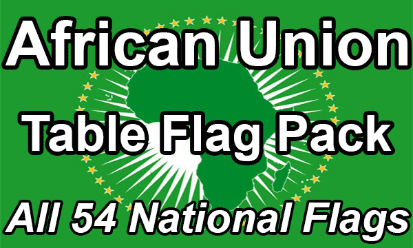 African Union - Table Flag Pack