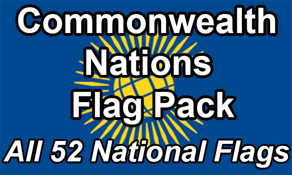 Commonwealth Nations - Flag Pack (now 53 countries)