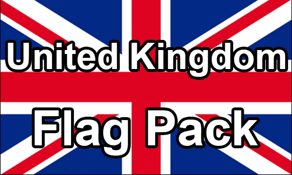 United Kingdom - Flag Pack