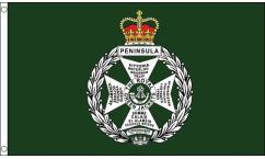 Royal Green Jackets Flags