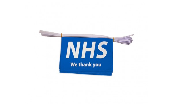 NHS - We Thank You Bunting (Buy One Get One Free)