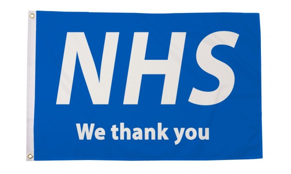 NHS - We Thank You Flag (Buy One Get One Free)