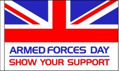 Armed Forces Day Flag Packs