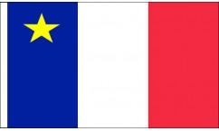 Acadia Table Flags