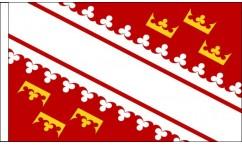 Alsace Table Flags
