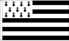 Brittany Table Flags