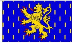 Franche-Comte Table Flags