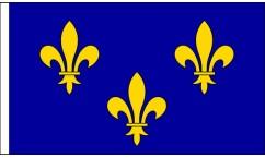 Ile-de-France Table Flags