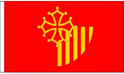 Languedoc-Roussillon Table Flags
