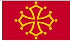 Midi-Pyrenees Table Flags