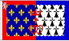 Pays de la Loire Table Flags