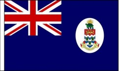 Cayman Islands Hand Waving Flags