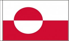 Greenland Hand Waving Flags