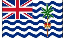 British Indian Ocean Territories Hand Waving Flags