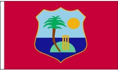 West Indies Hand Waving Flags