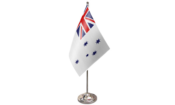 Australia Navy Ensign Satin Table Flag