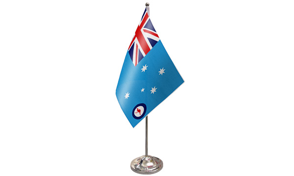 Australia RAF Ensign Satin Table Flag