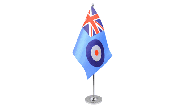 RAF Ensign Satin Table Flag
