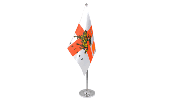 St George Charger Satin Table Flag