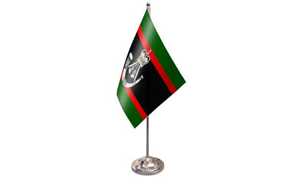 The Rifles Satin Table Flag