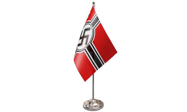 German WWII Satin Table Flag