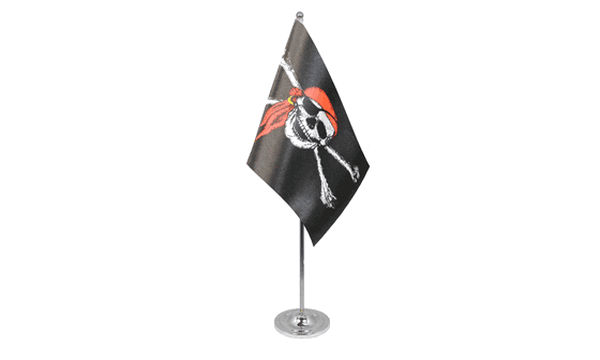 Pirate Bandana Satin Table Flag