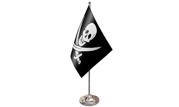 Jack Rackham Satin Table Flag