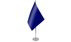 Plain Colour Satin Table Flags
