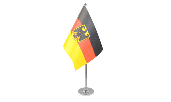 Germany Crest Satin Table Flag