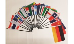 Women's World Cup Hand Flags