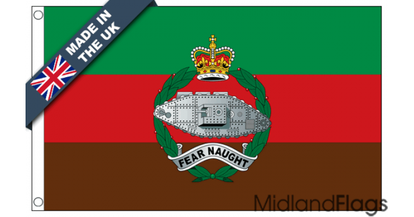 Royal Tank Regiment Flags Made In The Uk At Midland Flags