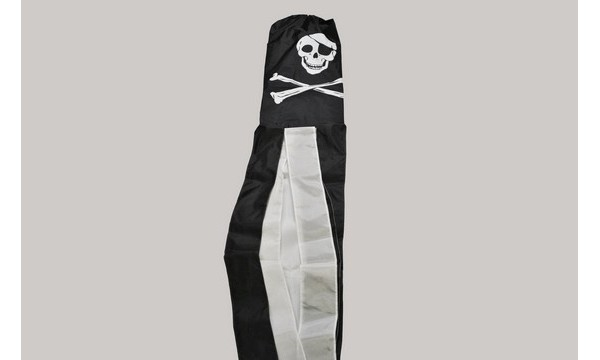Skull and Crossbones Windsock