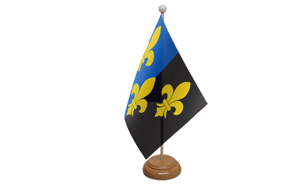 Monmouthshire Small Flag with Wooden Stand