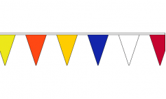 Multi Colour Triangle Bunting