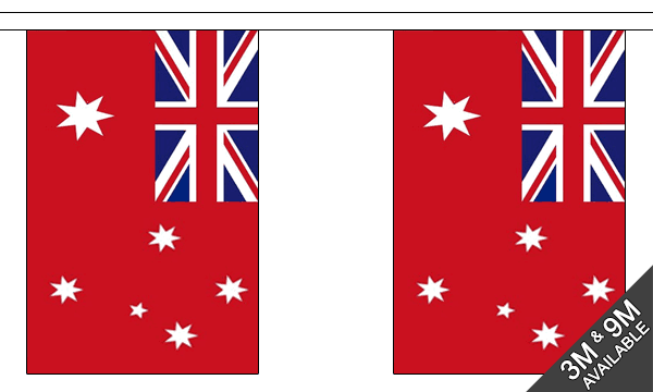 Australia Red Ensign Bunting