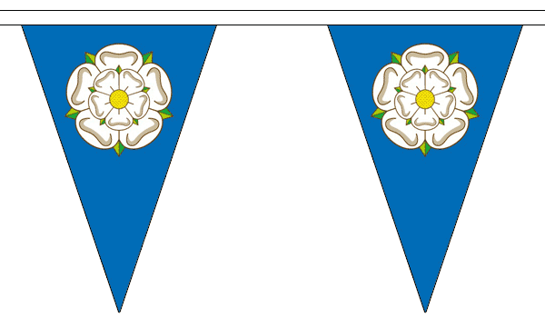 Yorkshire New Triangle Bunting