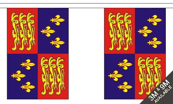Royal Banner 16th Century Bunting