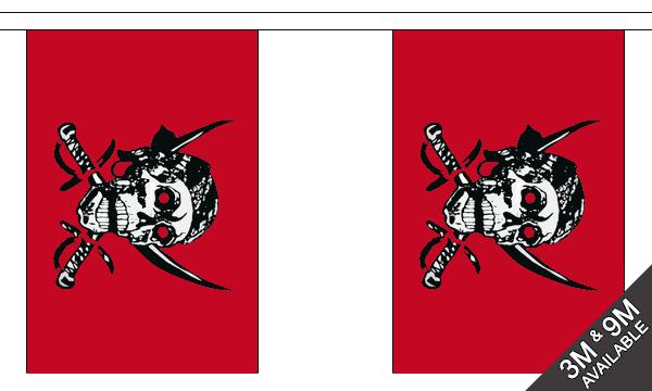 Red Skull Bunting