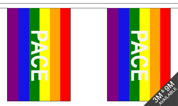 Rainbow Pace Bunting