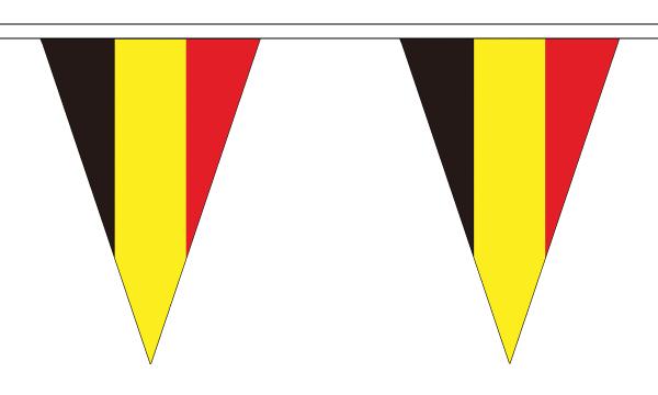 Belgium Triangle Bunting