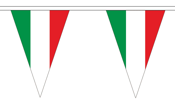Italy Triangle Bunting