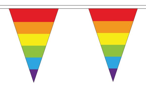 Rainbow (LGBT) Triangle Bunting