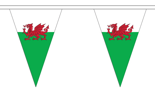 Wales Triangle Bunting