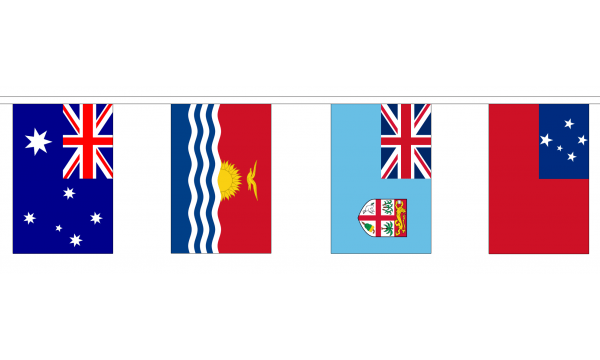 14 Oceania Nations Bunting