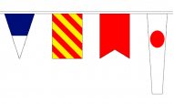 Signal Code Flags and Nautical Bunting