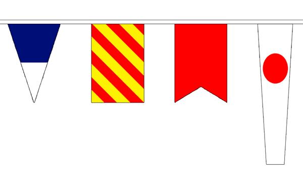 Nautical Signal Bunting