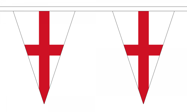 St George (England) Triangle Bunting