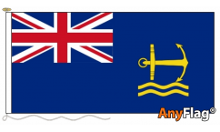 British Royal Maritime Auxiliary Ensign Flag